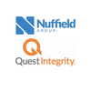 Nuffield Group and Quest Integrity logo