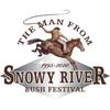 The Man From Snowy River Bush Festival logo