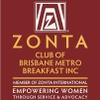 Zonta Brisbane Metro Breakfast Club logo