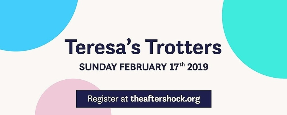 2019 Teresa's Trotters Event Banner