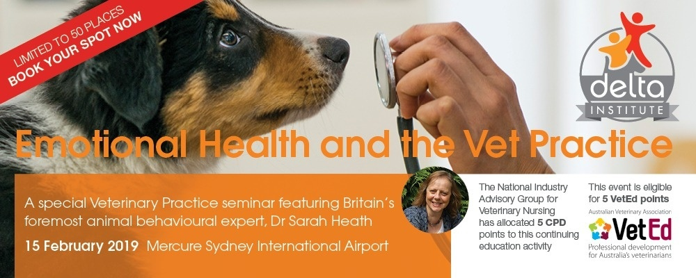Emotional Health and the Vet Practice Event Banner