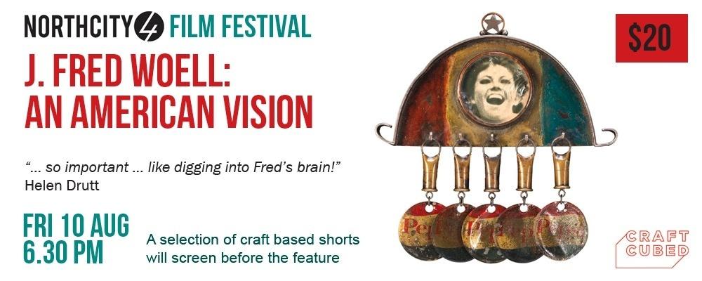 Craft Film Festival - J. Fred Woell: An American Vision Event Banner