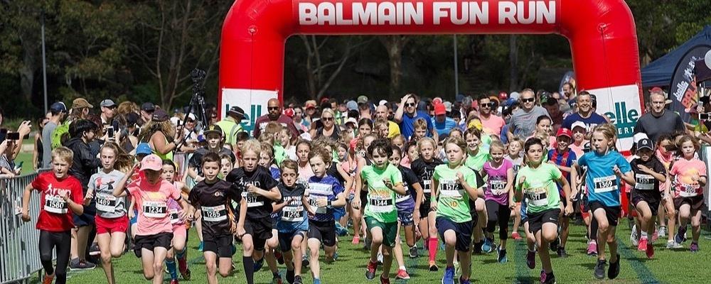 2019 Belle Property Balmain Fun Run Event Banner