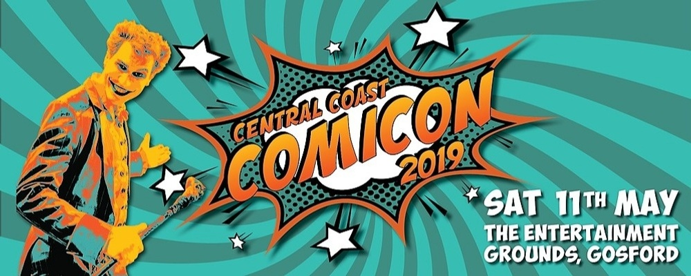 Central Coast Comicon 2019 Event Banner