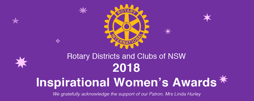 Inspirational Women's Awards 2018 Event Banner