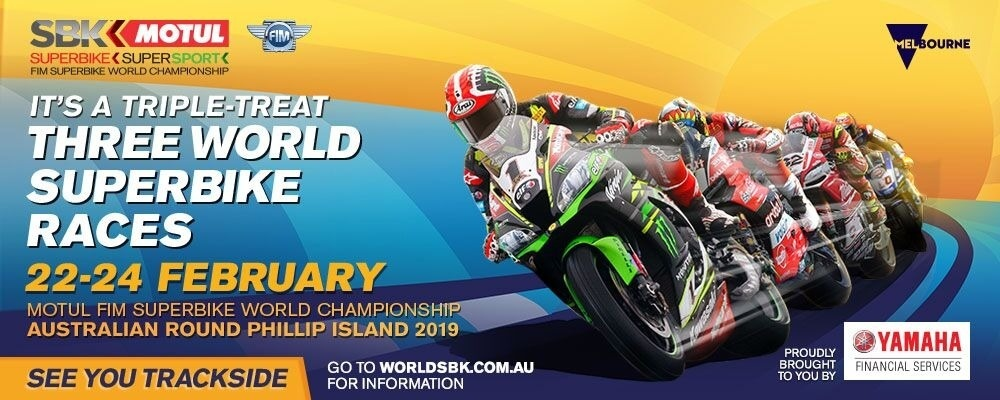 Black Dog Ride to the World SBK Championship - Victorian Leg Event Banner