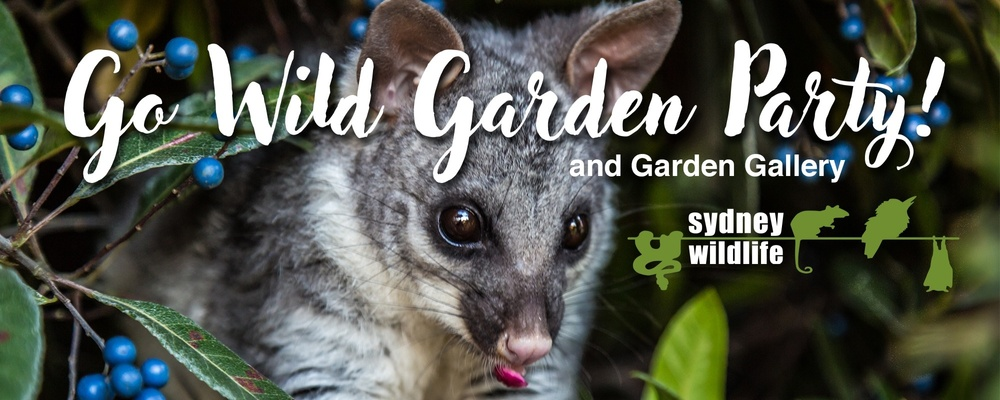 Sydney Wildlife's Go Wild Garden Party! Event Banner