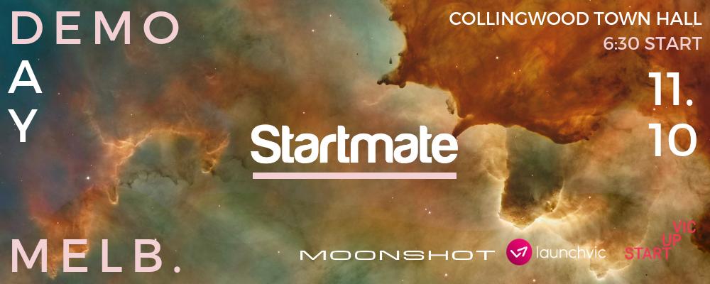 Startmate Demo Day- Melbourne  Event Banner