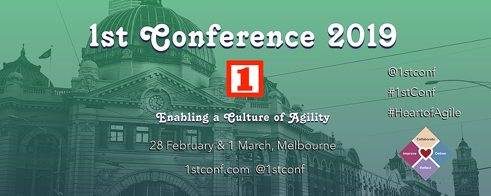 1st Conference 2019 Event Banner