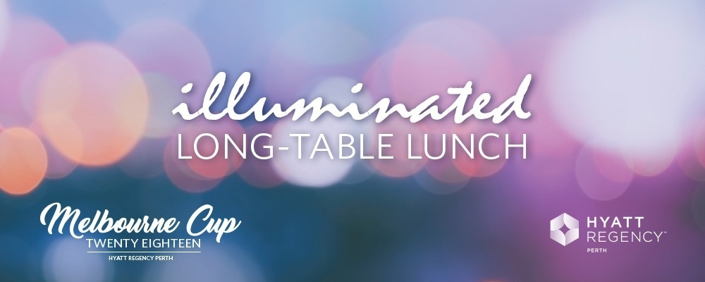 Melbourne Cup 2018: Illuminated Long-Table Lunch Event Banner