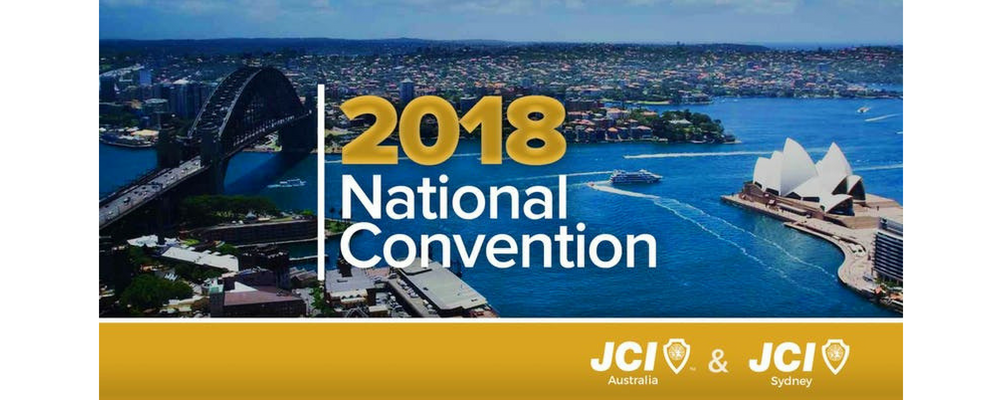 JCI 2018 National Convention Event Banner