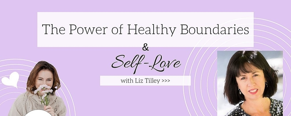 The Power of Healthy Boundaries & Self-Love // Canberra Event Banner