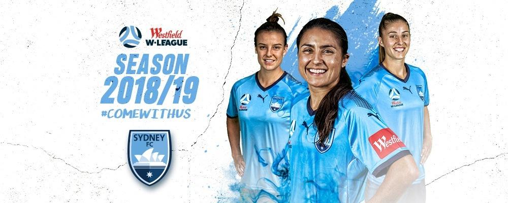 Sydney FC Westfield W-League 2018/19 Round 6 Event Banner
