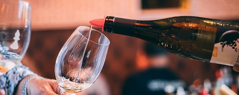 Racy Riesling Wine Tasting February 16th - South Press + SocialTable Event Banner