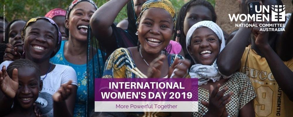 Sydney International Women's Day Breakfast Event Banner