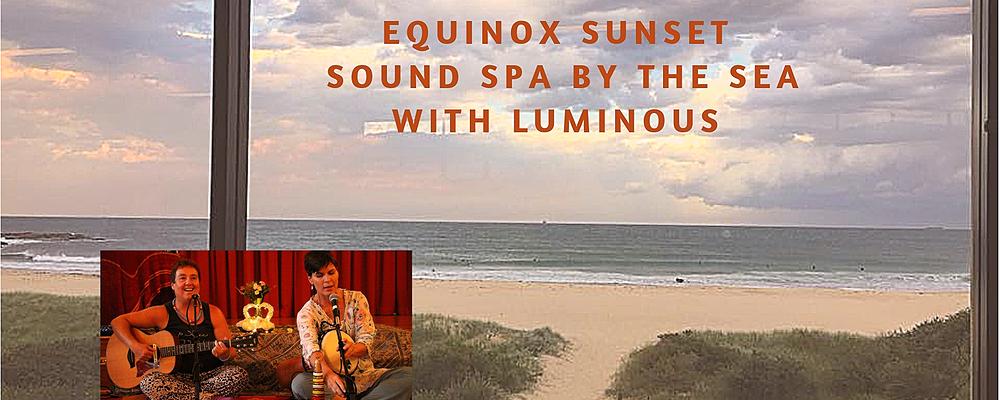 Equinox sunset sound spa  Event Banner