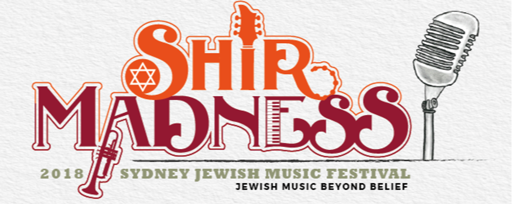 Shir Madness - Sydney Jewish Music Festival Event Banner