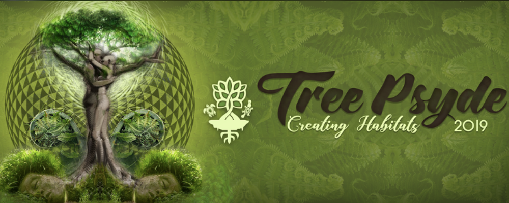 Tree Psyde 2019 – Creating Habitats Event Banner
