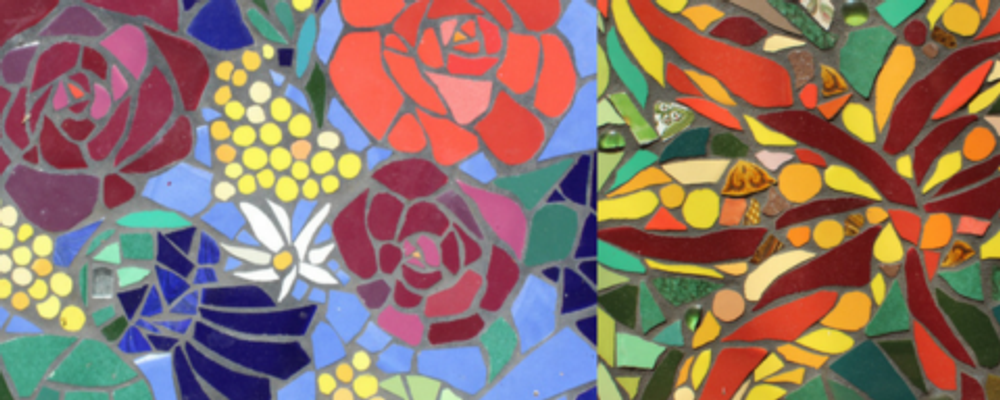 Mosaic Madness - 1 Day Mosaic Workshop Event Banner