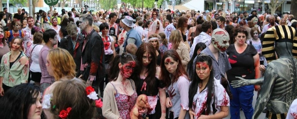 Canberra Zombie Walk 2018 Event Banner