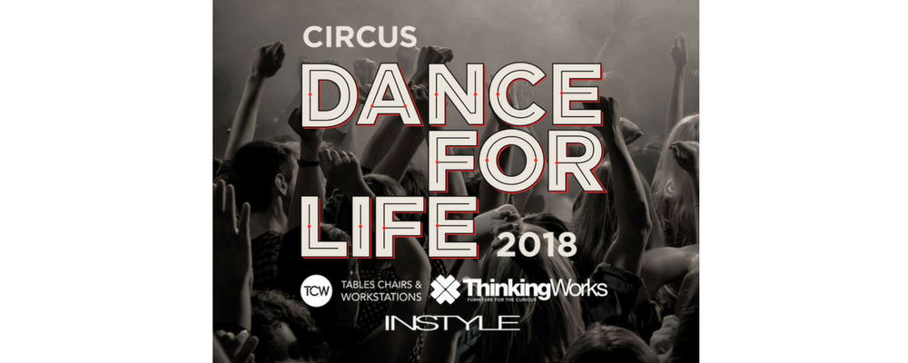Dance for LIFE 18 – CIRCUS Event Banner
