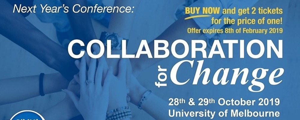 Ethical Enteprise Conference 2019 - Collaboration for Change Event Banner