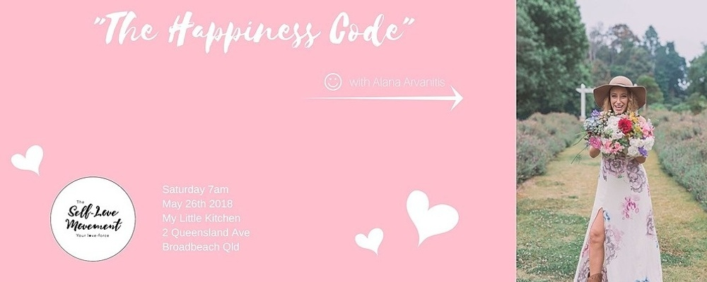 The Happiness Code // Gold Coast Event Banner