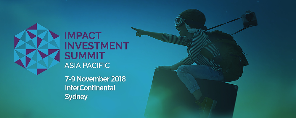 Impact Investment Summit Asia Pacific 2018 Event Banner