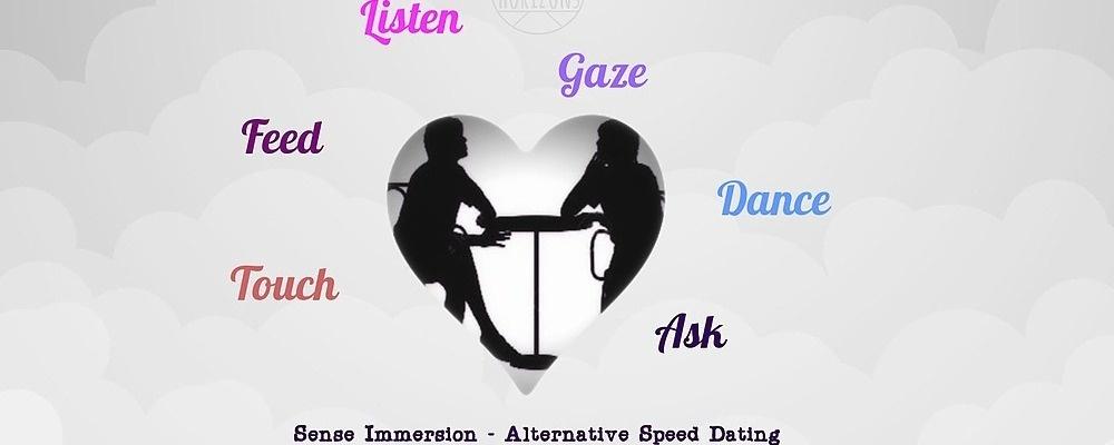 Sense Immersion – Alternative Speed Dating Event Banner