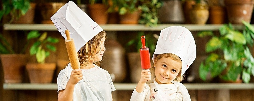 The Grounds children's pizza-making experience, Summer School Holidays Event Banner