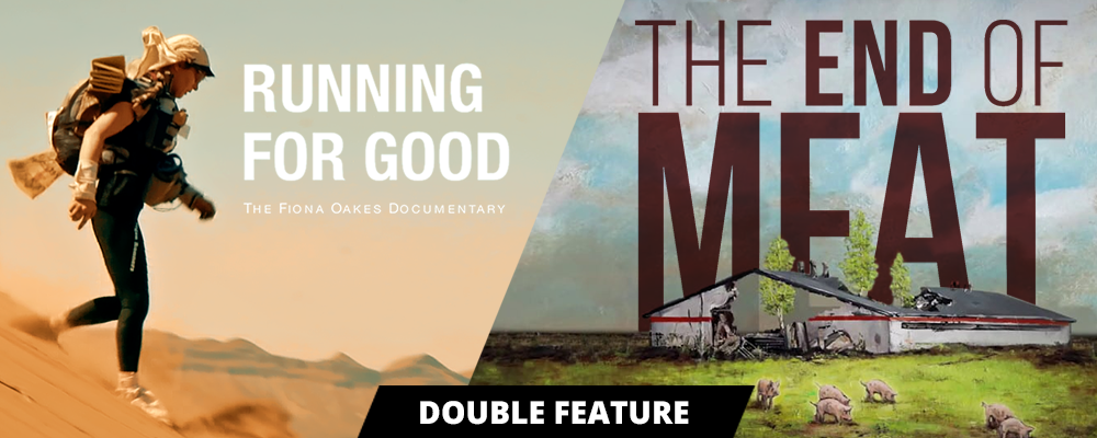 Running For Good + The End Of Meat: Australian double-feature premiere + panel Event Banner