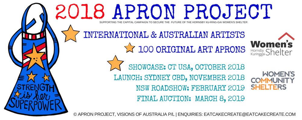 2018 Apron Project | Artist Registration EXTENDED Event Banner