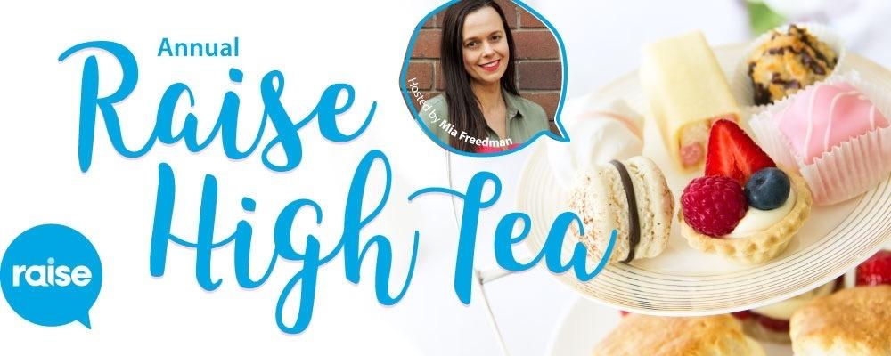 Raise High Tea - Sydney Event Banner