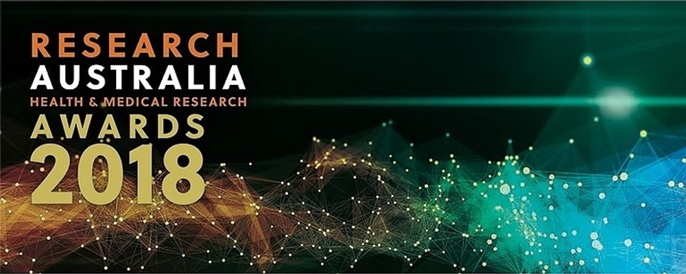 Research Australia Health & Medical Research Awards 2018 Event Banner