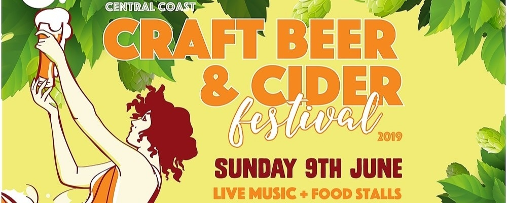 Central Coast Craft Beer & Cider Festival #ccbeerfest19 Event Banner