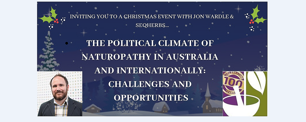 The First Annual SEQ Herbs Christmas Event Event Banner