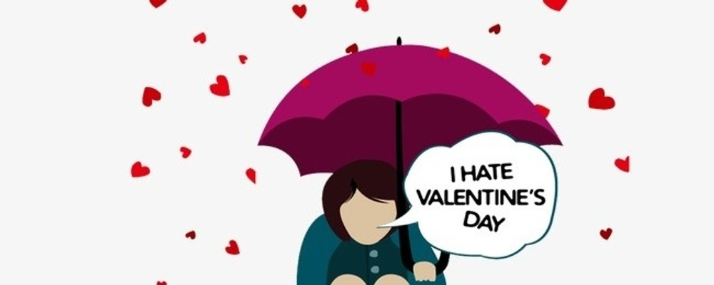 Anti-Valentines Day February 14th - Jack & Knife + SocialTable Event Banner