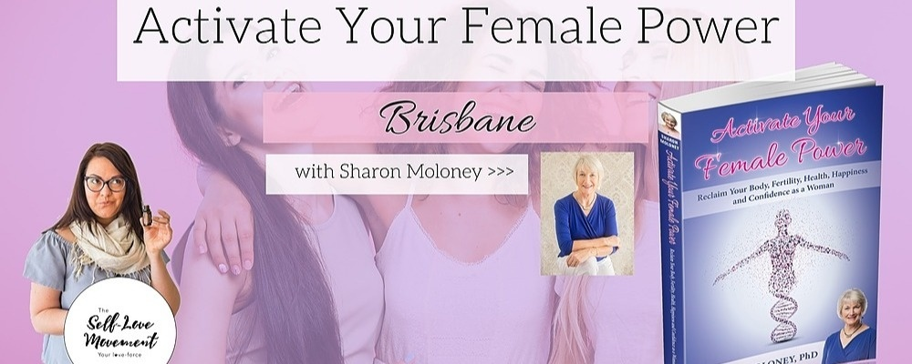 Activate Your Female Power // Brisbane Event Banner