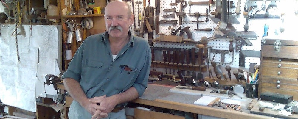 Plane and Chisel Sharpening with Jim Davey at Illawarra Festival of Wood 2019 Event Banner