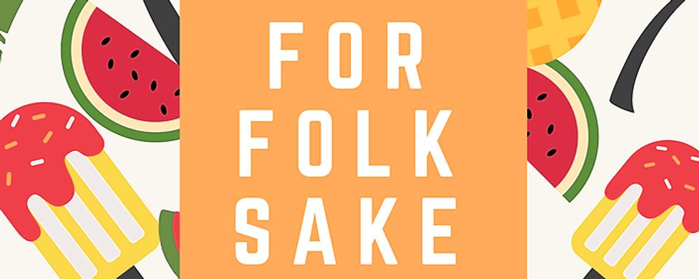 For Folk Sake ~ Sat 17th November Event Banner