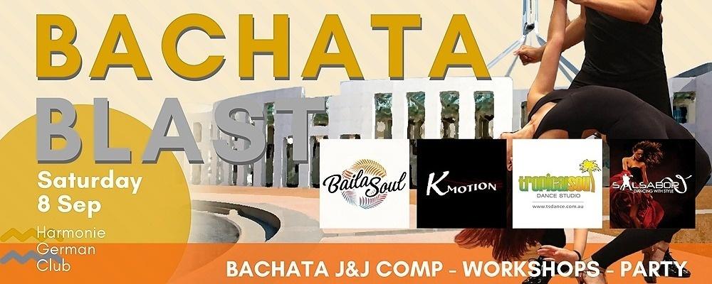 Bachata Blast in Australia's Capital - Saturday 8th Sep Event Banner