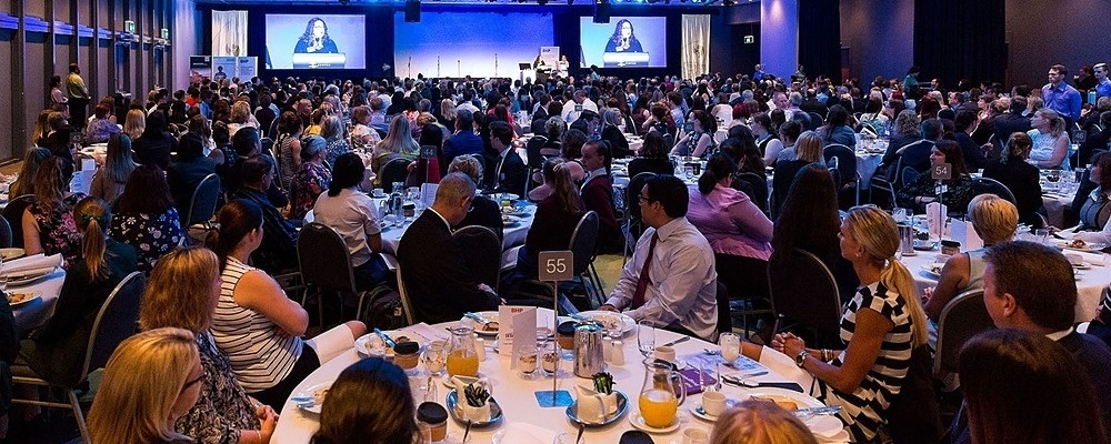 BHP presents the 2019 QRC/WIMARQ International Women's Day Breakfast & South32 Inspire!Convention Event Banner