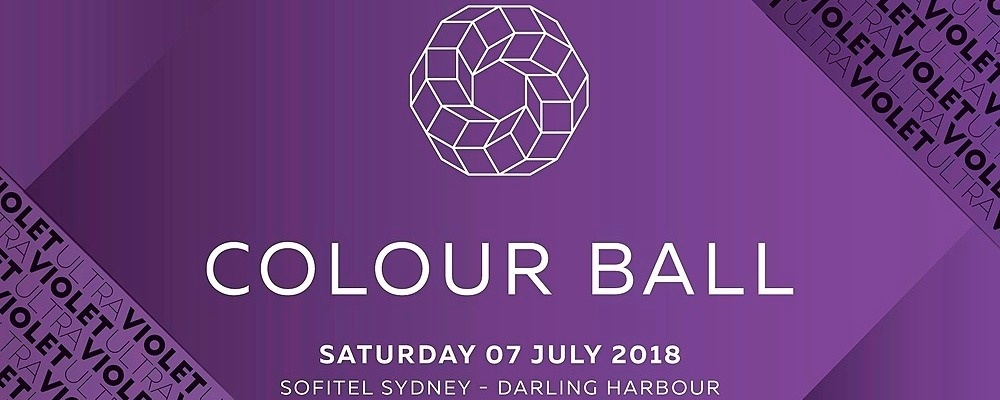 Sydney Colour Ball proudly supporting Redkite Event Banner