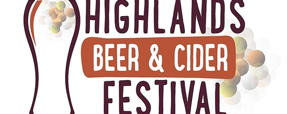Highlands Beer & Cider Festival Event Banner