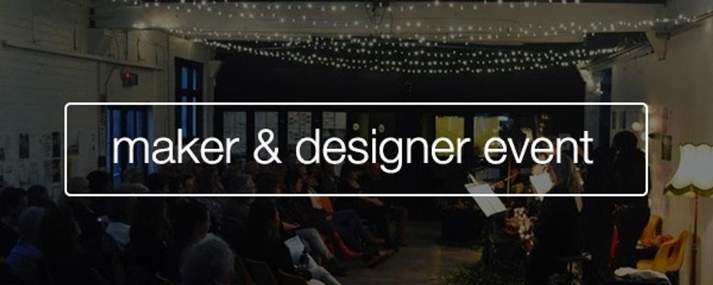 Christchurch Makers & Designers Meri Kirihimete Hui Event Banner