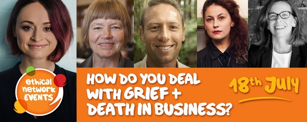 How do you deal with grief & death in business? Event Banner