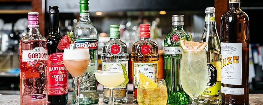 Tonight We Tanqueray: Canapé Degustation & Gin Masterclass Event Banner