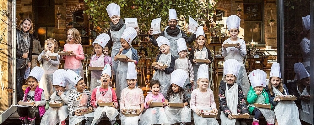 The Grounds Kids Cupcake & Cookie Decorating Workshops (OCTOBER SCHOOL HOLIDAYS) Event Banner