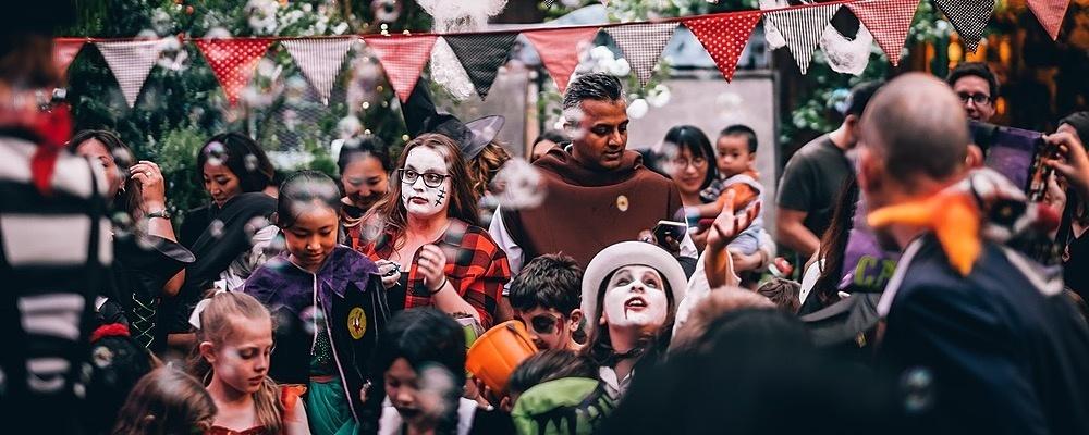 The Grounds Garden of Terror | Family Halloween Event Event Banner