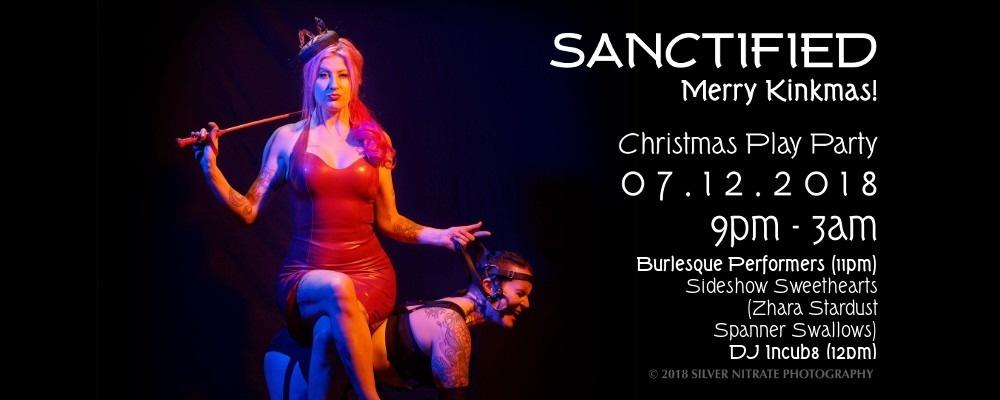 Sanctified - Merry Kinkmas! Event Banner